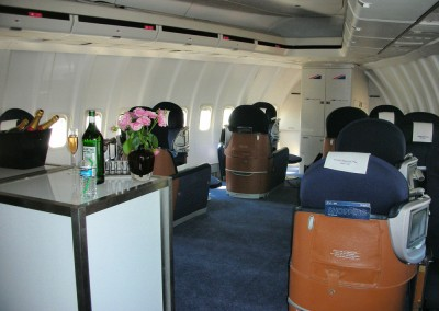 1st Class 747 Cabin Interior