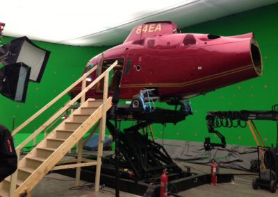Agusta mock up for filming