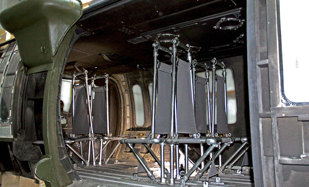 Blackhawk Helicopter Interior