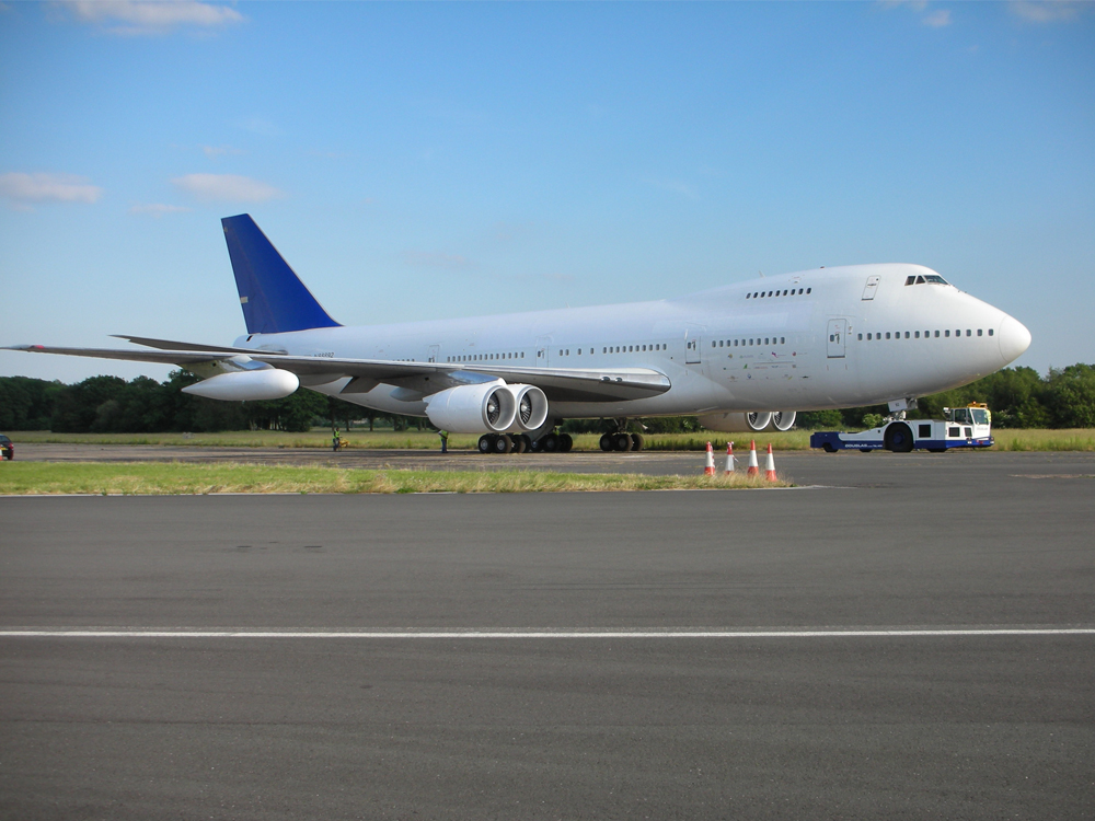 boeing 747 exterior aces high aviation filming