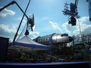 DC3 Rig setup for aviation filming