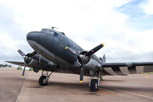 Douglas DC3 Dakota (C47) Aircraft as seen in film Band of Brothers