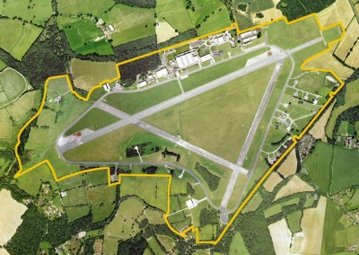 Dunsfold Airfield Aerial View