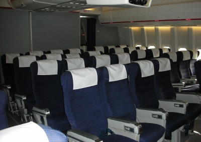 Economy Seats rear front view