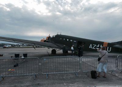 WW2 JU52 Aircraft