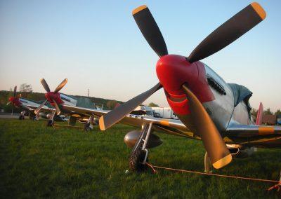 WW2 Aircraft P51s