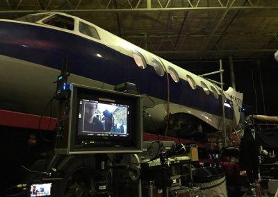 jetstream exterior studio filming