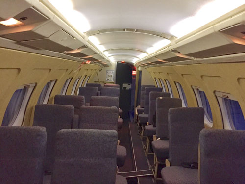 Airline seats for the carrier