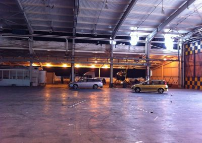Aircraft hangars studio space for filming