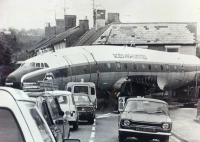 Aircraft in traffic