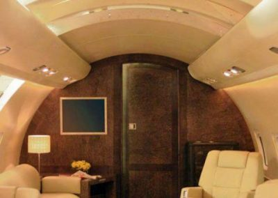 Challenger Executive Jet Interior
