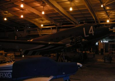 Aircraft in Dunsfold Aircraft Hangar