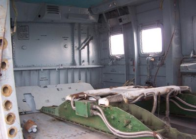 Mil Mi-24 Attack Helicopter - Hind Helicopter Gunship interior