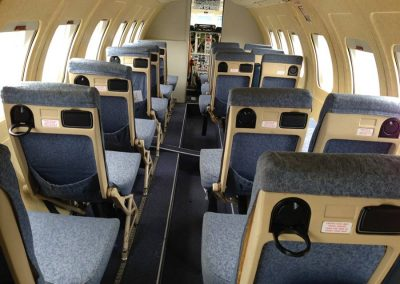 Jetstream interior as seen in Bafta and Oscar winning The Theory of Everything