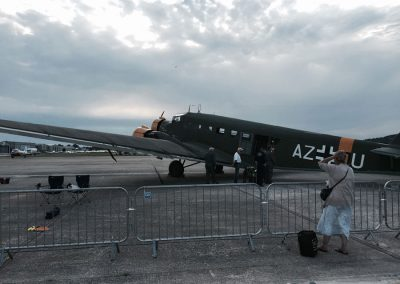 WW2 JU52 Aircraft used for filming