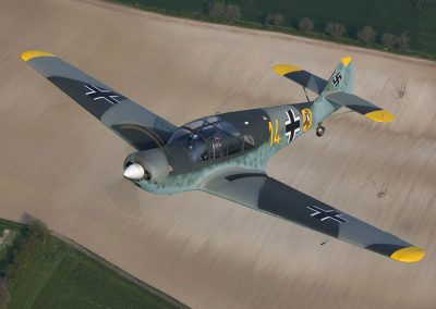 WW2 ME108 Field Aircraft used for filming