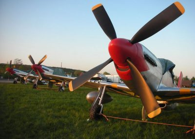 WW2 Aircraft P51s as used for Red Tails film