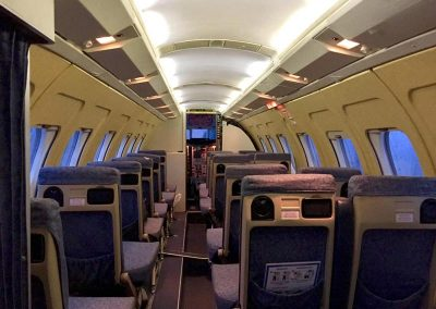 Jet stream interior seating