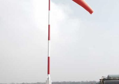 Windsock used in aviation filming