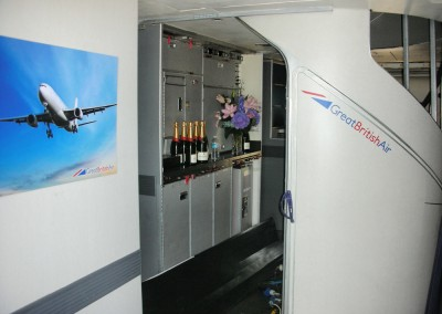 1st Class 747 Galley