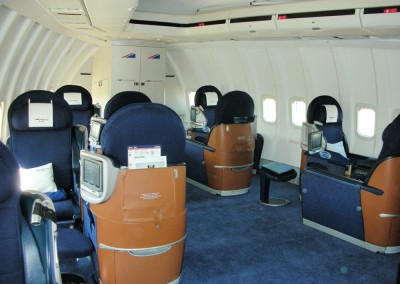1st Class 747 Pod Seating