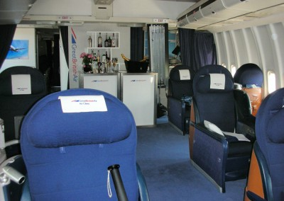 1st Class 747 Seating