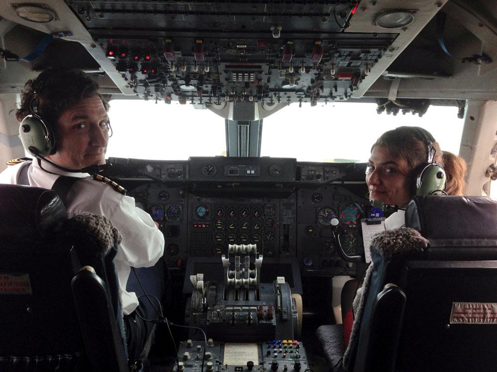 Dunsfold Boeing 747 Cockpit