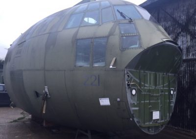 C-130 Studio Cockpit