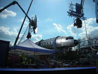 DC3 Rig setup for aviation filming