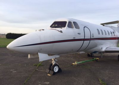 HS125 Aircraft nose