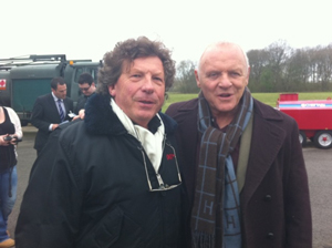 Mike Woodley of Aces High and Sir Anthony Hopkins