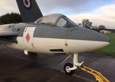 Sea Hawk aircraft supplied for aviation filming