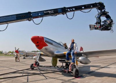 P-51 WW2 Aircraft used for filming Red Tails