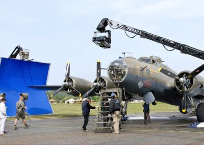 WW2 B17 Aircraft as used in Red Tails film