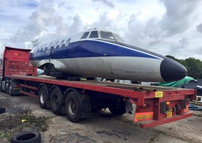 jetstream on trailer