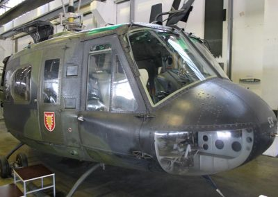 Huey HU-1H Military Helicopter