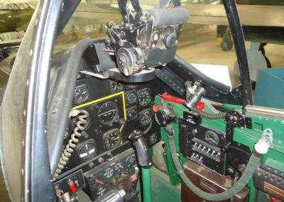 WW2 P51 mustang cockpit