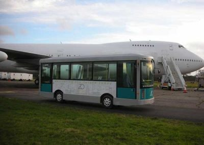 Airport Bus for filming