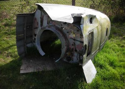 Wreckage used for filming