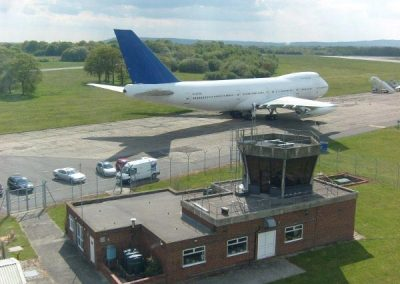 Control Tower Exterior 747