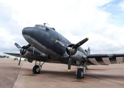 Dakota DC3 exterior as used in Band of Brothers Film