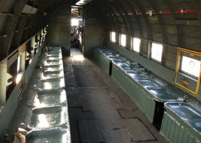 Dakota DC3 interior as used in Band of Brothers Film