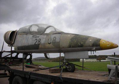 Fighter Jet Cockpit Exterior