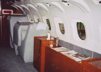 Gulfstream Private Jet as seen in the Da Vinci Code film