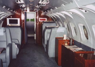 Gulfstream Private Jet ex Da Vinci Code film