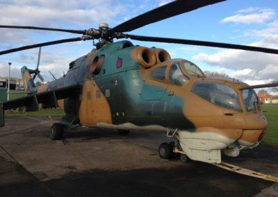 Mil Mi-24 Attack Helicopter Gunship as seen on Top Gear
