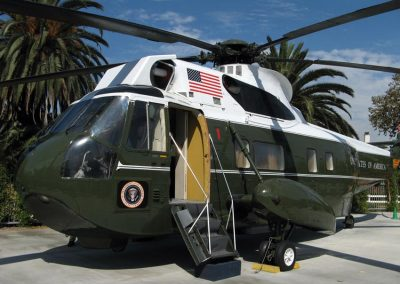 Sea King Helicopter used for aviation filming