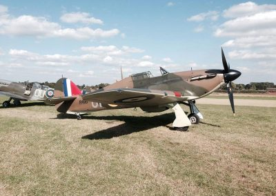 WW2 Hurricane Aircraft available for filming