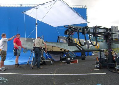WW2 Me108 film Aircraft used for filming