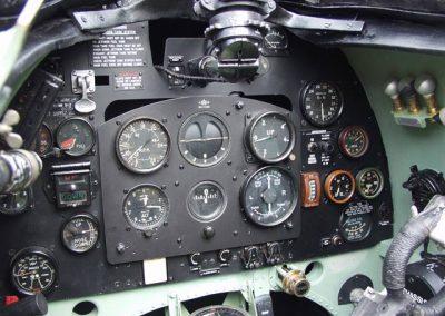 Spitfire Instrument panel